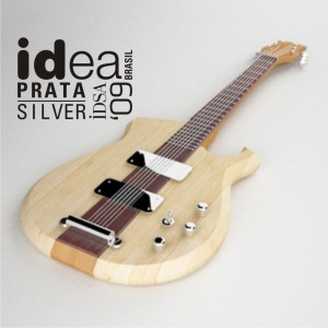 Guitarra JAM premiada no IDEA Brasil 2009