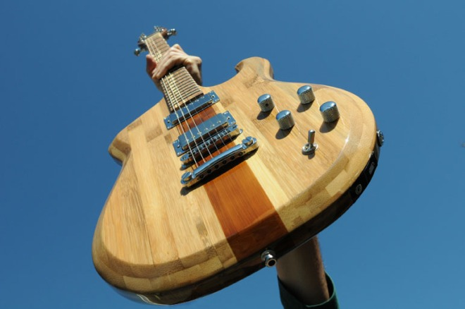 Guitarra JAM Digital de Bambu