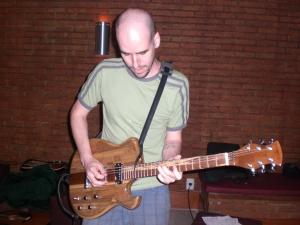 Fernando Aranha testando a JAM