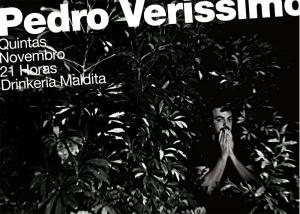 Flyer show Pedro Verissimo Rio